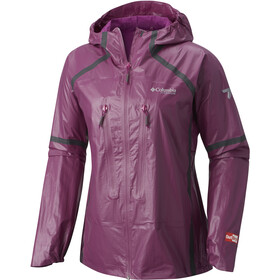 Columbia OutDry Ex Featherweight Shell giacca Donna, intense violet
